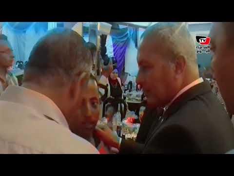 محافظ السويس يشارك الأيتام وذوي الاحتياجات الخاصة إفطار رمضان  - 11:21-2018 / 5 / 24