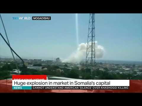 Nine killed in Somalia shopping mall car bombing - police