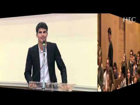Finale du Concours d'éloquence 2014 - HEC Paris
