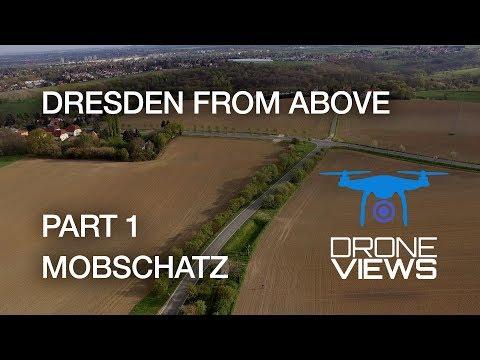 Dresden from Above - Part 1 - Mobschatz - DJI Phantom 3