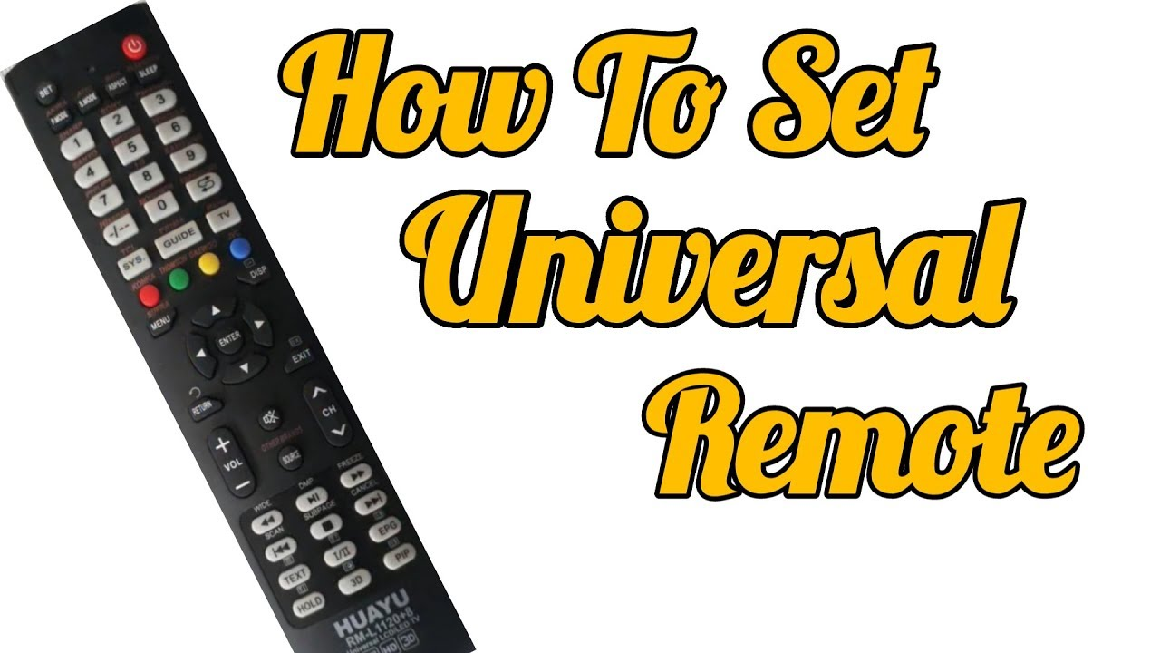 Universal Remote Set For Led TV || Crt Tv || All TV Codes || Led tv repair