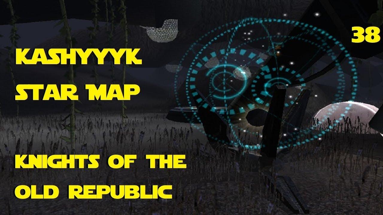 Kotor Kashyyyk Star Map Last.Knights Of The Old Republic Kashyyyk Star Map Youtube