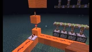 Видео урок 2. Горизонтальная дверь в minecraft