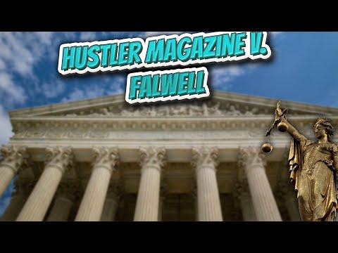 Hustler mag. vs falwell
