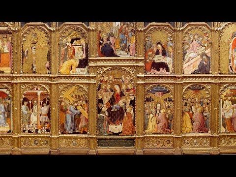 Obra comentada: Retablo del arzobispo don Sancho de Rojas, Juan Rodríguez de Toledo