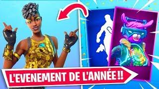 PLUIE DE CADEAUX.. L'ÉVÉNEMENT DE L'ANNÉE sur FORTNITE !!