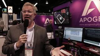 Apogee Electronics swung into NAMM 2017 with a few products in tow....