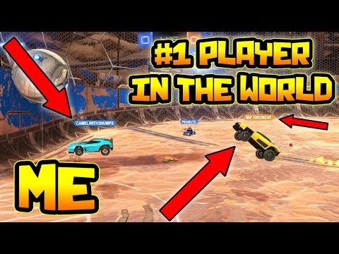 3 v 3 AGAINST KRONOVI | BEST PLAYER IN THE WORLD ( Rocket League Gameplay )