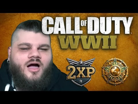 CALL OF DUTY WORLD WAR II | MASTER PRESTIGE NIVEL 138 | PUNTOS DOBLES!
