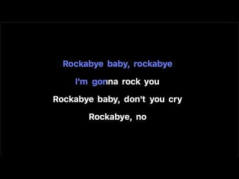 Clean Bandit - Rockabye ft  Sean Paul & Anne-Marie Karaoke