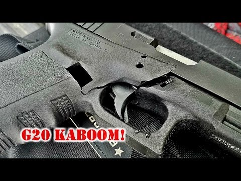 RIP GLOCK 20: I Had a Kaboom - The Truth About Guns