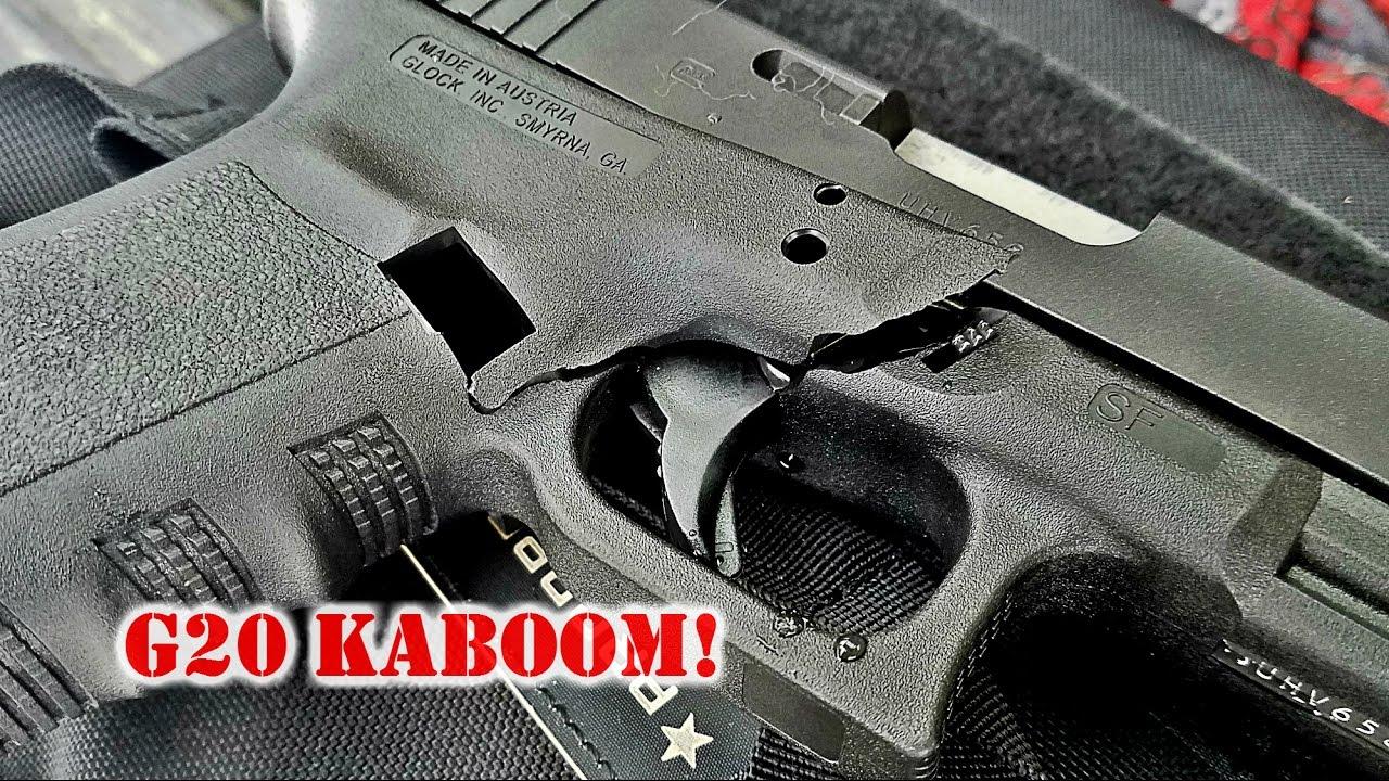 GLOCK 20 Kaboom! Also, Xtreme Penetrator vs IIIA Armor