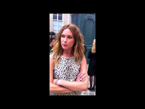 Erin Wasson Paris Fashion Week