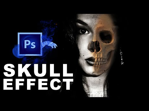 How To Create Ghost Skull Face Effect In Photoshop CC