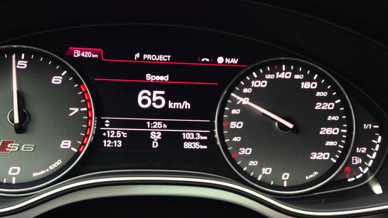 2013 Audi S6 0 100 km h