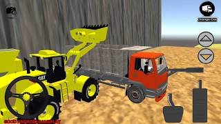 Stone Pit Dozer Simulator #3 - New Levels Unlocked Android GamePlay FHD