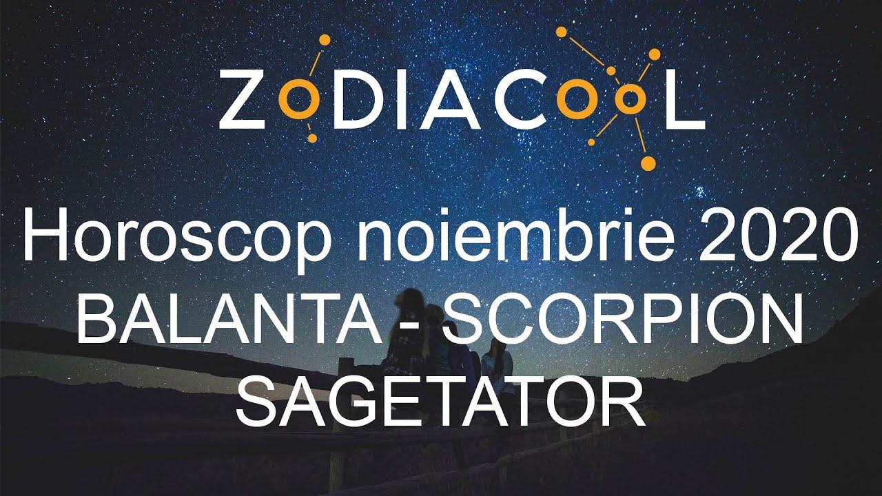 Horoscop luna Noiembrie 2020 pentru Balanta, Scorpion si Sagetator, oferit de ZODIACOOL
