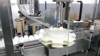 automatic pet bottle cap pressing machine rotary cover presser