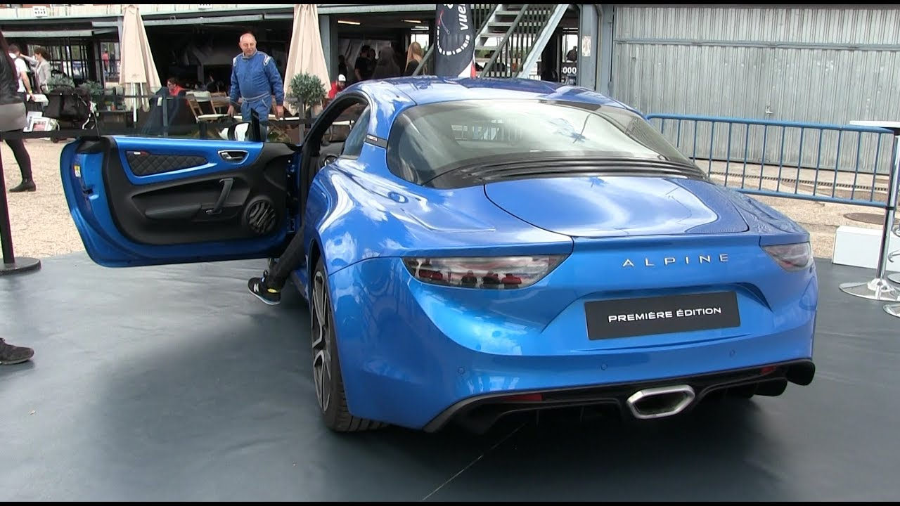 2019 Renault Alpine A110 Start Up And Revs Youtube