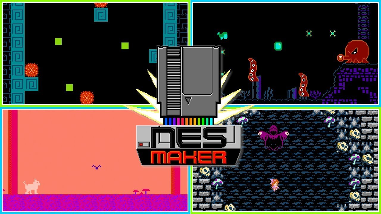 NESmaker Games, Demos, and More! - Make Your Own NES Games