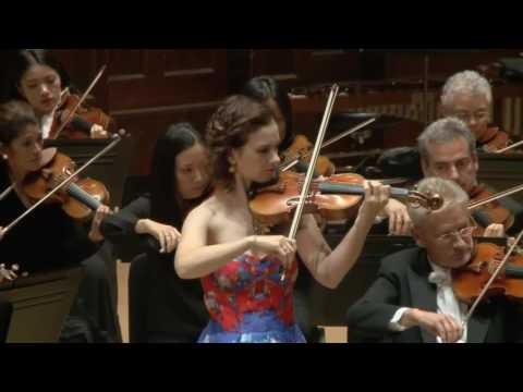 Hilary Hahn performs Beethoven Violin Concerto - 3rd Movement