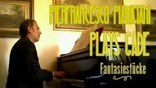 """N.W. Gade """"Fantasiestücke"""" Andantino con moto (parte del pianoforte senza clarinetto)"""