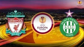 PES 2015 UEFA Europa League Liverpool F.C. vs AS Saint-Étienne Semi Final 60fps