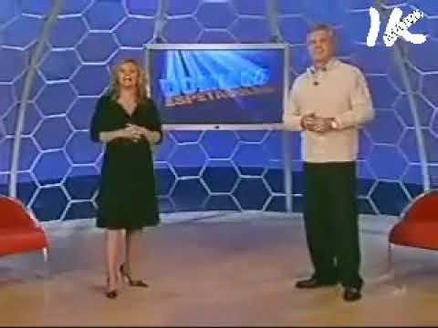 Encerramento do Domingo Espetacular em 2005 TRILHA RARA