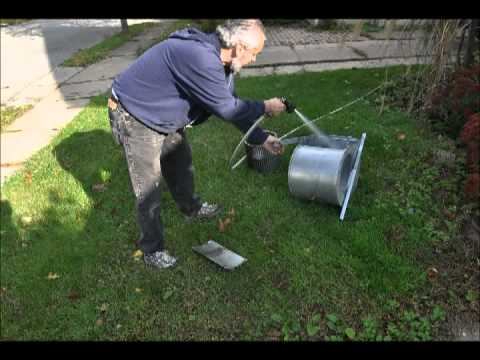 """""""Henry the HVAC Man"""" shows how to properly cleans the HVAC blower"""