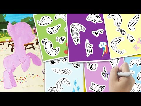 - My Little Pony Coloring Pages For Kids MLP Coloring Book - YouTube