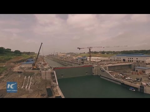 Delayed lock maintenance affects cargo passages through Panama Canal