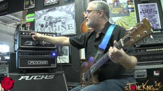 FUCHS Train II Guitar Amp Demo by Andy Fuchs : TRAINWRECK INSPIRED !!