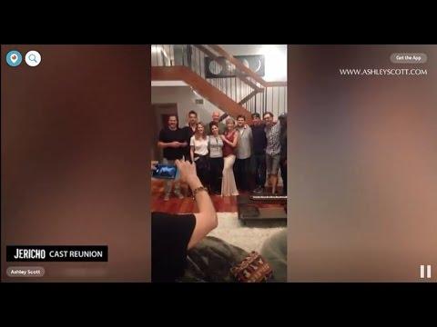 Jericho Tv  10 years cast reunion.