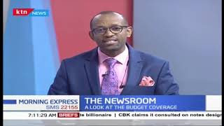 The National budget and how it affects our day to day lives | The Newsroom
