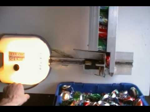 Electric Garage Door Opener >> Automatic Electric Can Crusher - YouTube