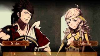 Fire Emblem Fates: Revelations - Shiro and Ophelia Support Love Story