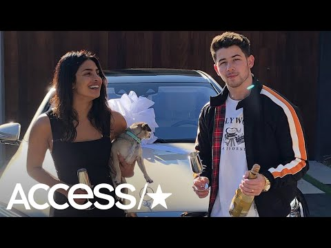Nick Jonas Splashed Out On A Maybach For Priyanka Chopra… Find Out Why! | Access