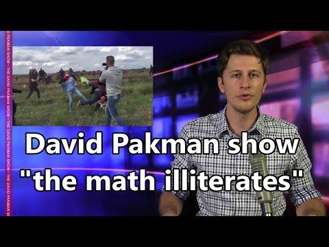 David Pakman, the math illiterate vs Hungarian Camerawoman