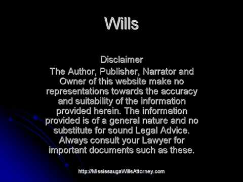 How to make a will, legal wills,trust wills,Mississauga wills attorney.