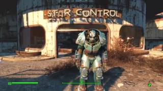 Fallout 4 Легендарная силовая броня Квант X-01