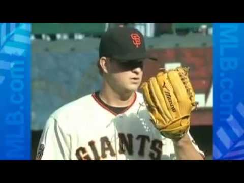 2008 MLB STORY: Matt Cain faces Chad Billingsley in youngsters pitching match-up (08.10.08)
