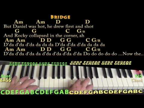Rocky Raccoon (The Beatles) Piano Cover Lesson with Chords/Lyrics