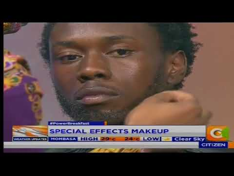 Power Breakfast: Special Effects makeup