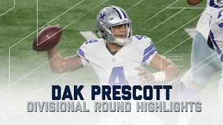 getlinkyoutube.com-Dak Prescott's 302-Yard, 3 TD Playoff Debut | Packers vs. Cowboys | NFL Divisional Player Highlights