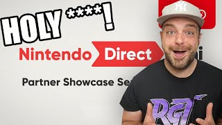 We NEED To Talk About That Nintendo Direct! Partner Showcase REACTION!