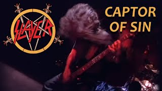 Slayer - Captor Of Sin (Live Intrusion, 1995) Multi Camera