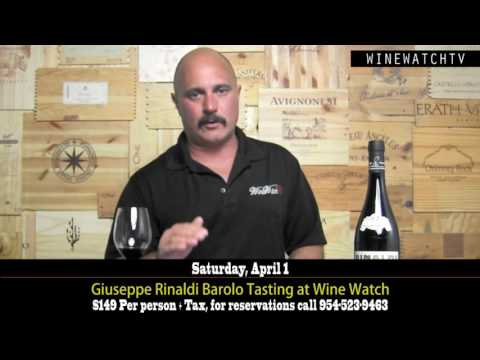 Giuseppe Rinaldi Barolo Tasting at Wine Watch - click image for video