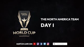 Team North America Day 1 - Arena of Valor World Cup 2018