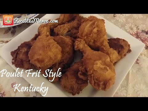 poulet-frit-style-kentucky