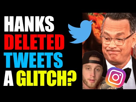Tom Hanks Didn't DELETE Tweets BUT His Son Did DELETE Instagram Posts RELATED To This CRAZY Theory